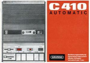Grundig C410 Cassette