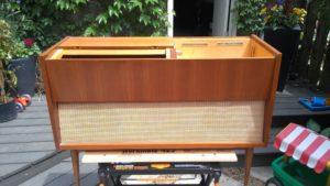 Cabinet Restoration - Original Condition