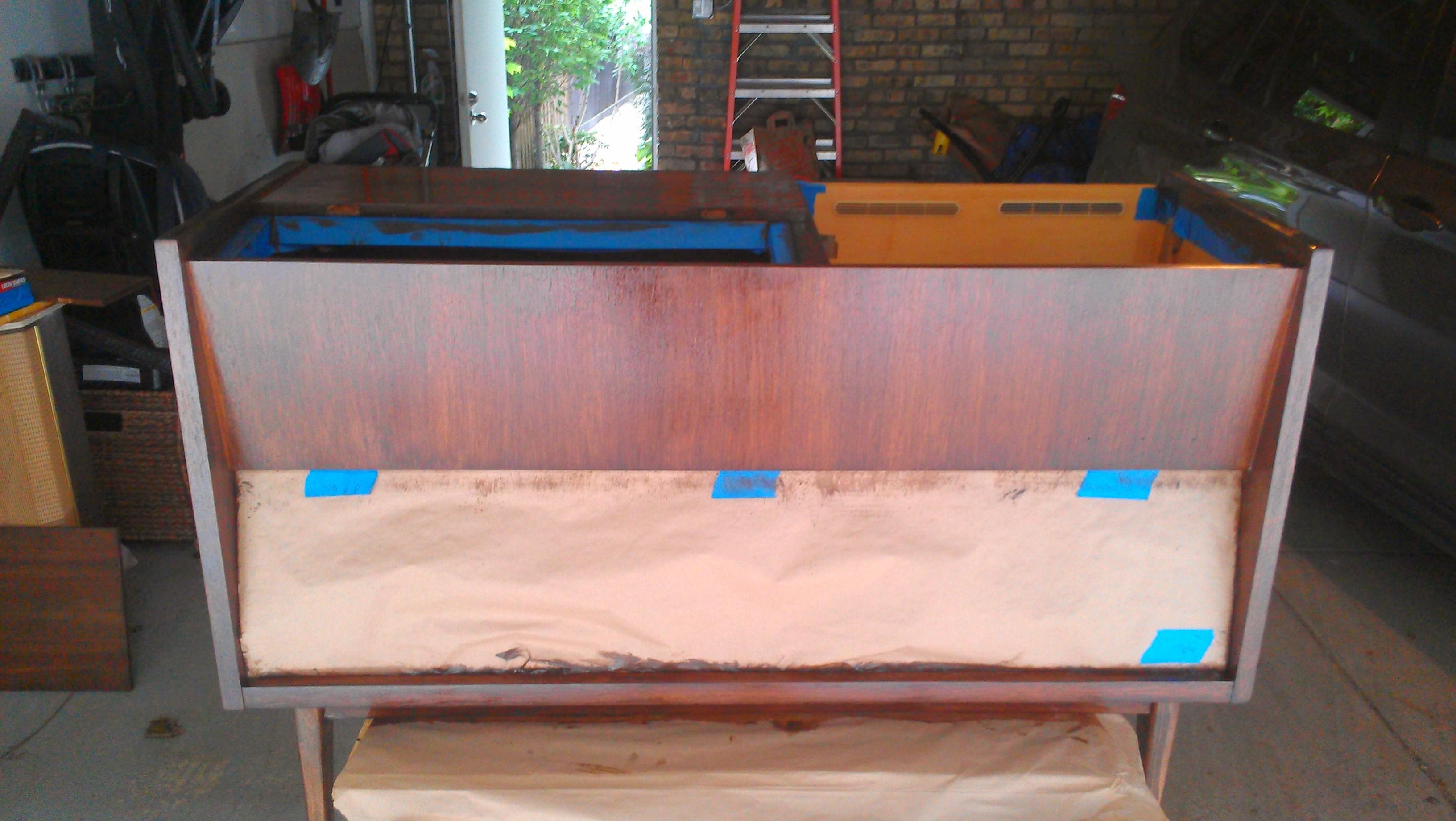 Stereo Cabinet Restoration