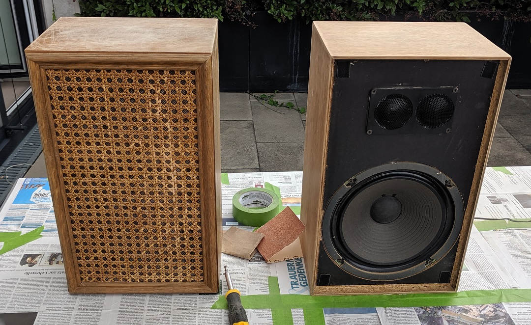 We have completed many speaker restoration projects