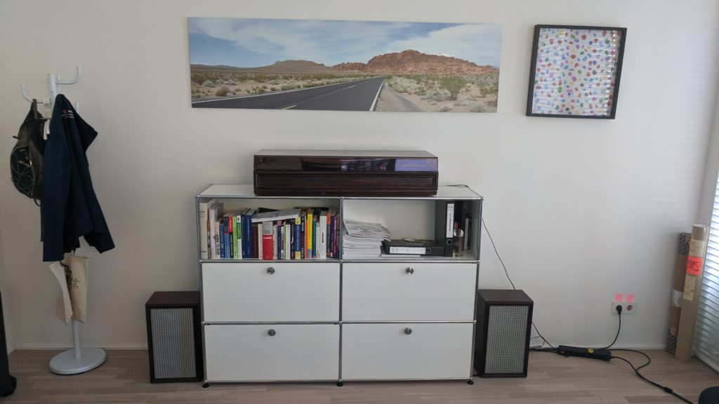 Refinished Rosita Box 270 HiFi Speakers